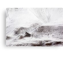 First Snow Svalbard 4 Canvas Print