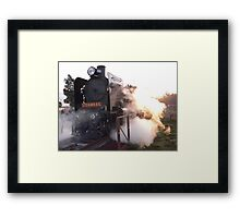 Smokin' Framed Print
