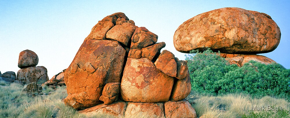 Granite Rockforms, Devils Marbles by Mark Boyle