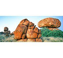 Granite Rockforms, Devils Marbles Photographic Print