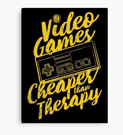 Video Games (N) Canvas Print