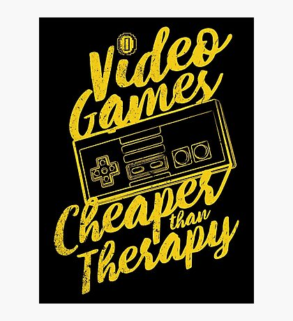 Video Games (N) Photographic Print