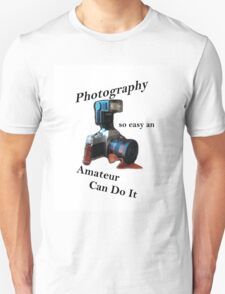 Photography So Easy T-Shirt