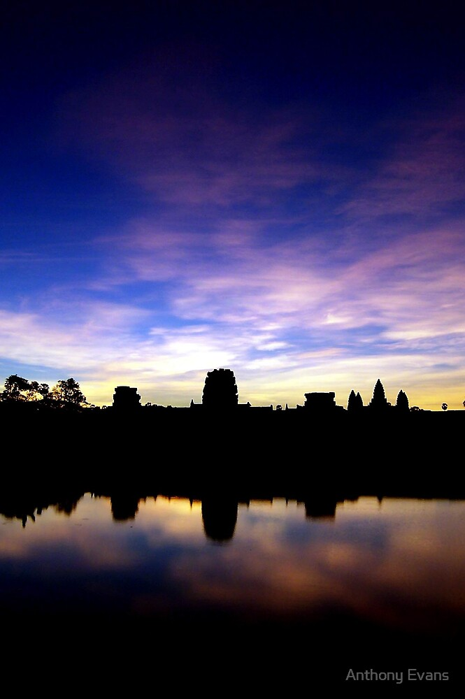 Angkor Sunrise by Anthony Evans