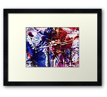 America Abstracted Framed Print