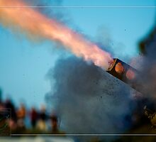 Canon Fire at History Alive by Mark Greenmantle