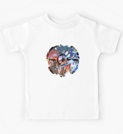 Groudon VS Kyogre - Primal Hoenn Battle Kids Tee