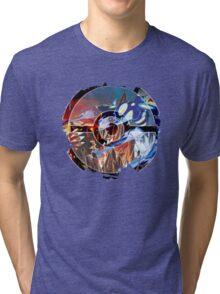 Groudon VS Kyogre - Primal Hoenn Battle Tri-blend T-Shirt