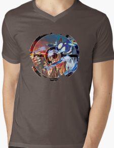 Groudon VS Kyogre - Primal Hoenn Battle Mens V-Neck T-Shirt