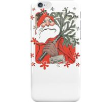 Wishing You A Very Merry Christmas Greeting Card iPhone Case/Skin