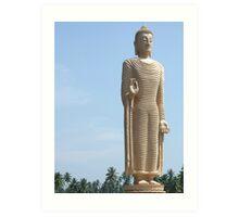 Buddha Statue - Sri Lanka Art Print