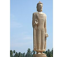 Buddha Statue - Sri Lanka Photographic Print