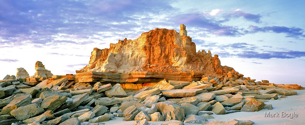 Rock Outcrop, Cape Leveque by Mark Boyle