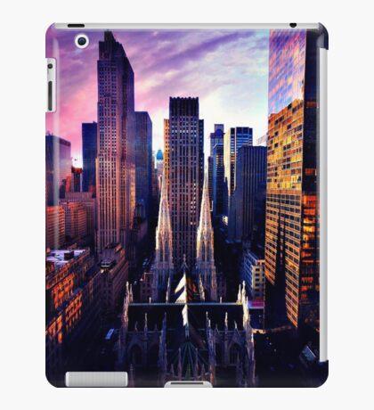 St. Patrick's Cathedral & Rockefeller Center iPad Case/Skin