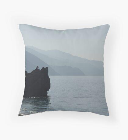 Monterosso Morning Throw Pillow