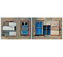 Window Diptych, Old Freemasons Hall, Cue Photographic Print