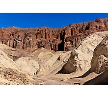Golden Canyon and Red Cathedral. Photographic Print