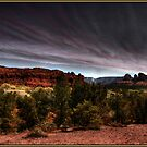 Storm over Sedona, Arizona by Wayne King