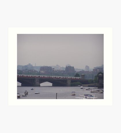 Charles River Art Print