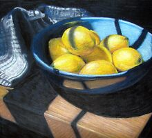 Bowl of Lemons by Kane  Hardie