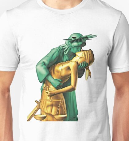 Liberty + Justice Unisex T-Shirt
