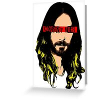 J. Christ from L.A. Greeting Card