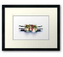 Vacro Series: 11 of 105 Framed Print