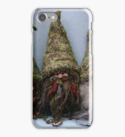 Handmade gnomes from Teddy Bear Orphans iPhone Case/Skin