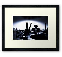 Vacro Series: 3 of 105 Framed Print