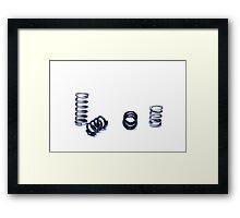 Vacro Series: 2 of 105 Framed Print