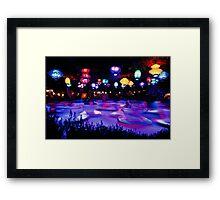 Purple Tea Framed Print