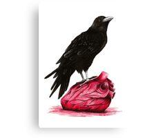 quote the raven: nevermore Canvas Print