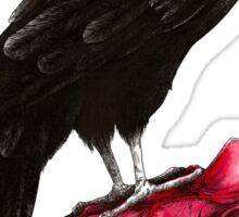 quote the raven: nevermore Sticker