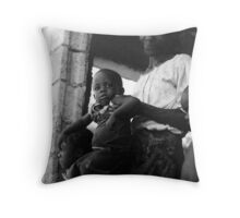 Timeline Throw Pillow