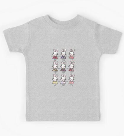 Best dress bunnies Kids Tee