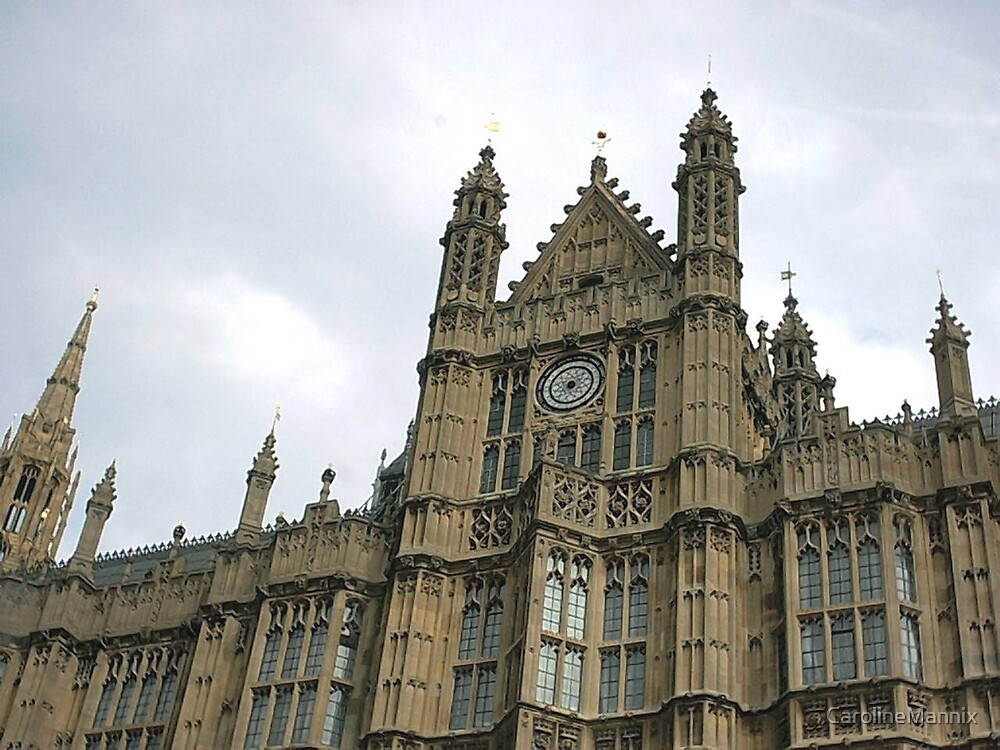 Houses of Parliament by CarolineMannix