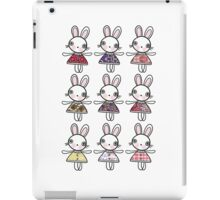Best dress bunnies iPad Case/Skin