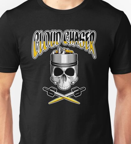 Cloud Chaser Skull Unisex T-Shirt