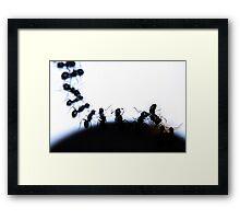 Varios Series - 70 Framed Print