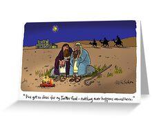 Shepherds Greeting Card