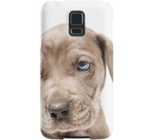 Great Dane Puppy  Samsung Galaxy Case/Skin