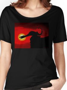 FIRE IN THE SKY Women's Relaxed Fit T-Shirt