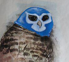 Blue Owl of Doom by David Irvine