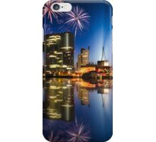 New Years eve fireworks - Rotterdam iPhone Case/Skin