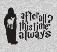 Severus Snape's Patronus by abcmaria