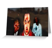 Dawn of the Dead Greeting Card