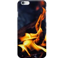 Midnight Fire iPhone Case/Skin