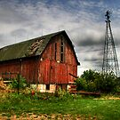 Old Barn by Mardynn
