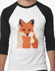 Winter fox Men's Baseball ¾ T-Shirt