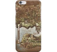 Distressed Maps: Pokemon Kanto iPhone Case/Skin